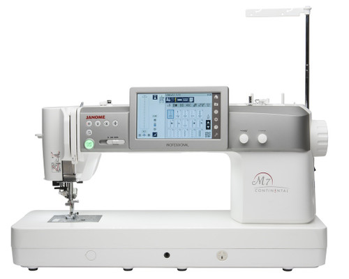 BRAND NEW MODEL - Janome M7 Continental Professional Sewing Machine