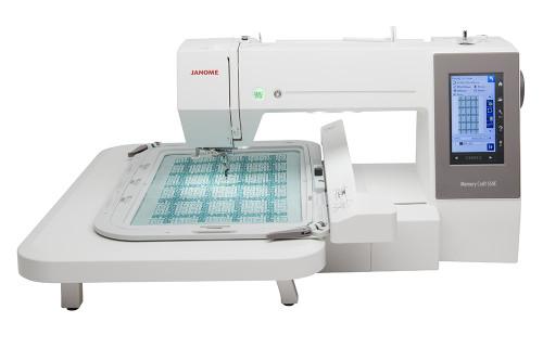 BRAND NEW MODEL - Janome Memory Craft 550E Embroidery Machine -Christmas Bonus Save £200