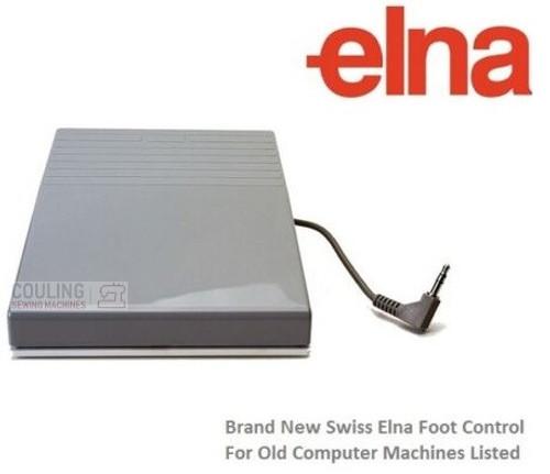 Swiss Elna Foot Control (wind up) - Club, 500, 5000, 6000, 7000, 8000, 9000 +
