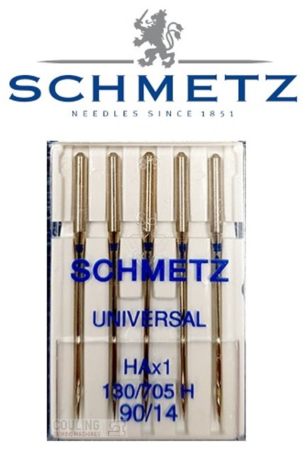 Schmetz Universal Sewing Machine Needles size 90/14