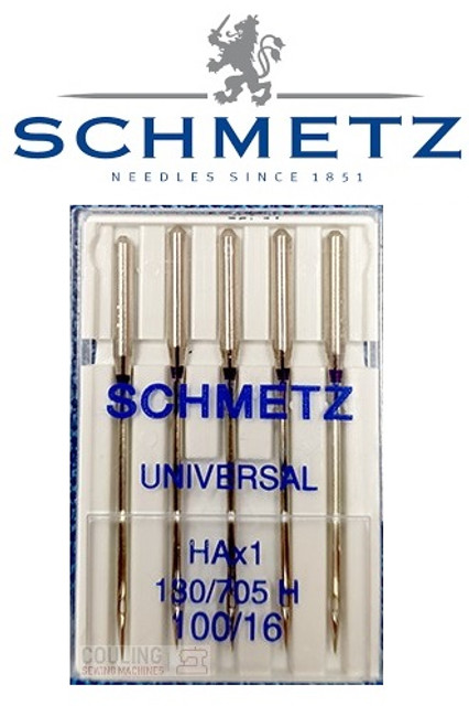 Schmetz Universal Sewing Machine Needles size 100/16