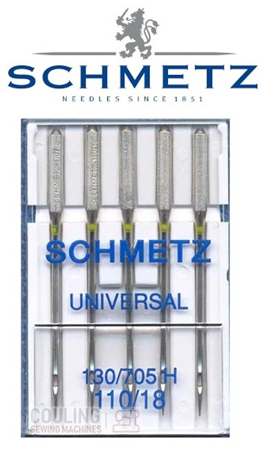 Schmetz Universal Sewing Machine Needles size 110/18