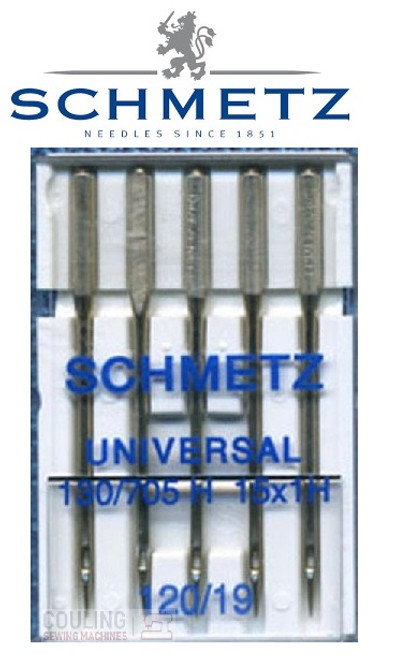 Schmetz Universal Sewing Machine Needles size 120/19