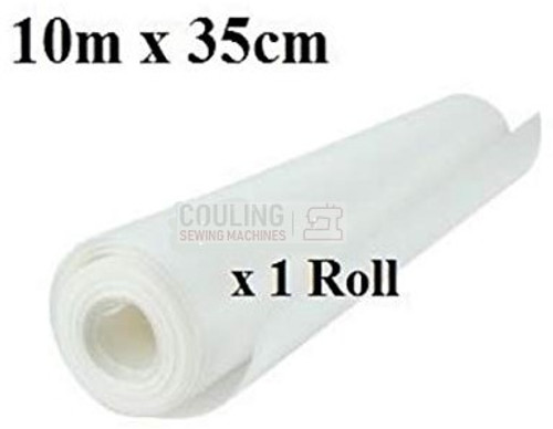 Iron On embroidery stabiliser / backing 10m x 35cm tearaway