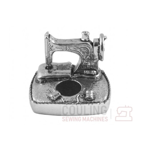 Pewter Pin Cushion Sewing Station Collectable Gift 8658