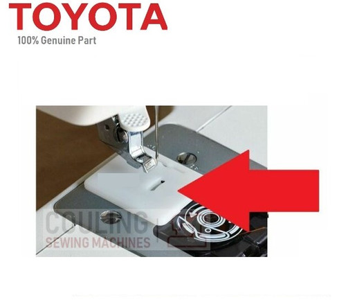 Toyota Plastic Darning Plate Feed Dog Cover SP ECO Series