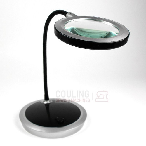 PURElite LED Magnifying Table Lamp 16 LEDs Dimmer
