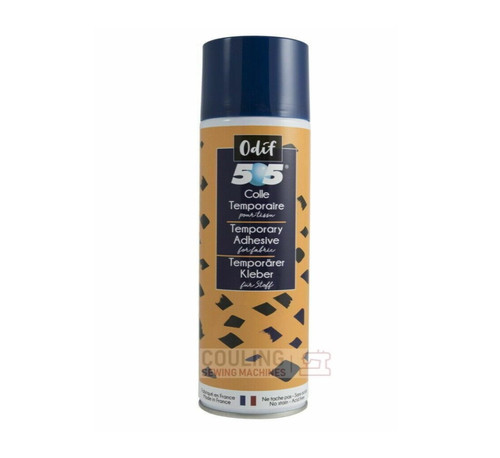 Odif 505 Spray & Fix Temporary Fabric Adhesive Glue 250ml
