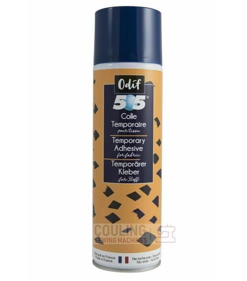 Odif 505 Spray & Fix Temporary Fabric Adhesive Glue 500ml