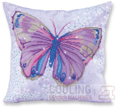 Diamond Dotz Papillon Mauve Butterfly DD16.005