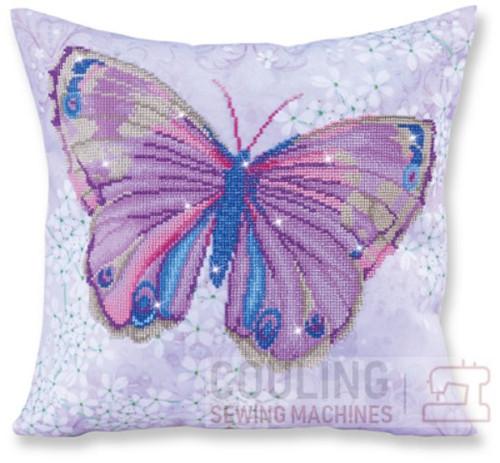 Diamond Dotz Papillon Mauve Butterfly DD16.005