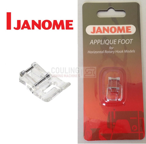 JANOME APPLIQUE FOOT - 202023001 - CATEGORY B & C