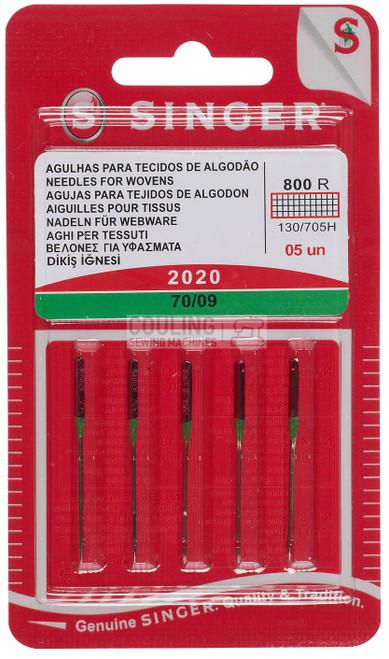 Singer Sewing Machine Needles 2020 Standard 70/09
