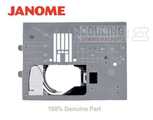 JANOME STRAIGHT STITCH NEEDLE PLATE Atelier7 Atelier5 MC8900QCPSE MC9400QCPSE +