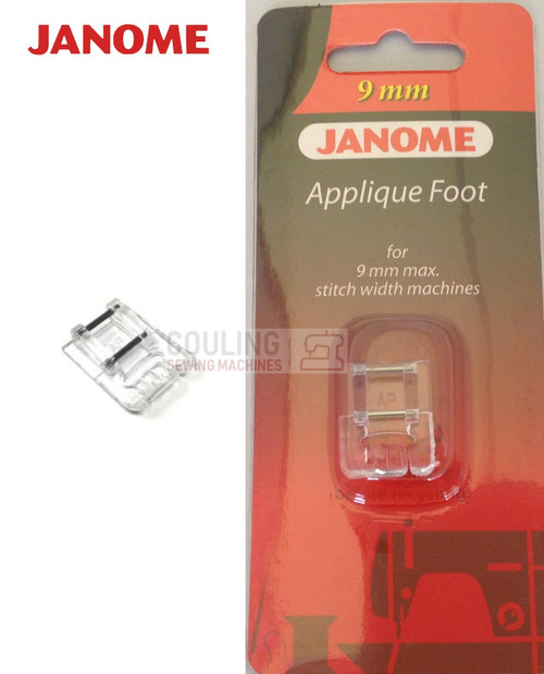 JANOME APPLIQUE FOOT AP - 202086002 9mm CATEGORY D