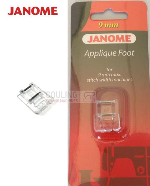 JANOME APPLIQUE FOOT AP - 202086002 9mm CATEGORY D