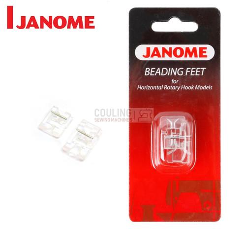 JANOME BEADING FOOT SET - 200321006 -  CATEGORY B & C
