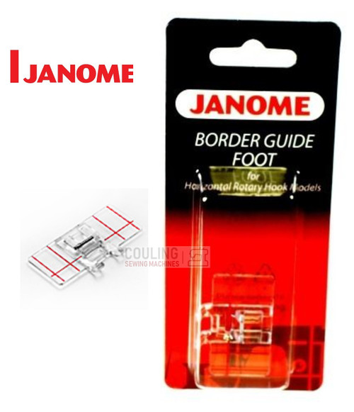JANOME BORDER GUIDE FOOT - 200434003 -  CATEGORY B & C
