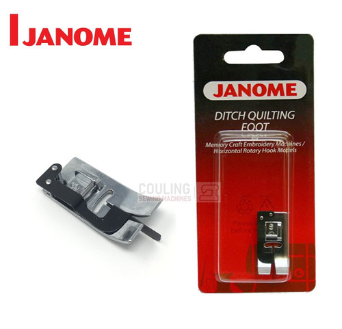 JANOME DITCH QUILTING FOOT S - 200341002 -  CATEGORY B & C