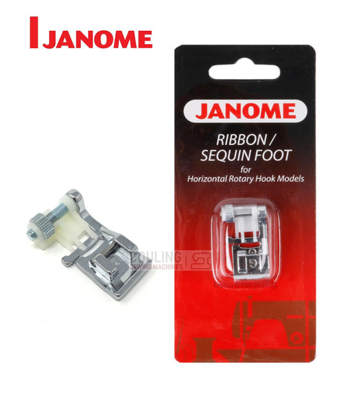 JANOME RIBBON / SEQUIN FOOT G - 200332000 -  CATEGORY B & C