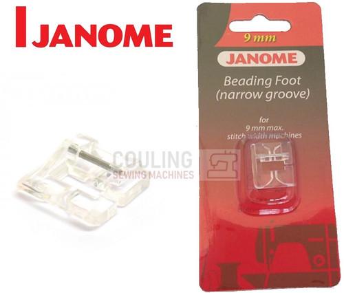 JANOME BEADING FOOT NARROW L1 - 202097006 9mm CATEGORY D