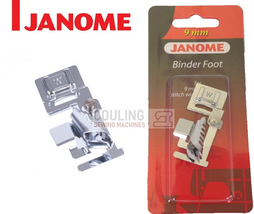 JANOME BIAS BINDER FOOT W - 202099008 9mm CATEGORY D
