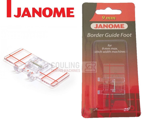 JANOME BORDER GUIDE FOOT FB - 202084000 9mm CATEGORY D