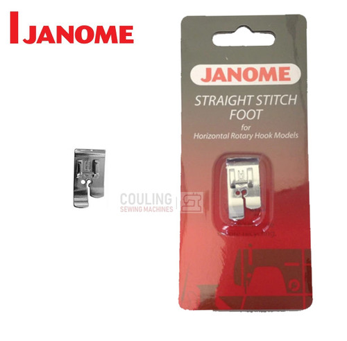 JANOME STRAIGHT STITCH FOOT H - 200331009 -  CATEGORY B & C