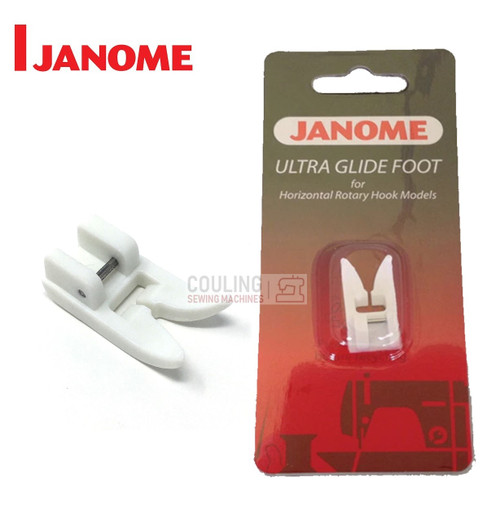 JANOME ULTRA GLIDE/ TEFLON FOOT - 200329004 -  CATEGORY B & C