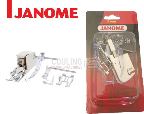 JANOME CONVERTIBLE EVEN FEED WALKING FOOT - 202133005 9mm CATEGORY D