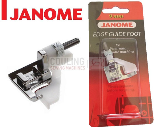 JANOME EDGE GUIDE FOOT SE - 202100003 9mm CATEGORY D