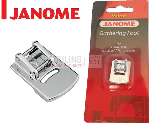 JANOME GATHERING FOOT V - 202096005 9mm CATEGORY D