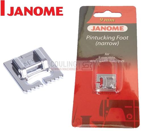 JANOME PIN TUCKING FOOT NARROW N2 - 202094003 9mm CATEGORY D
