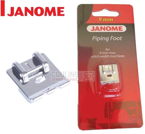 JANOME PIPING FOOT I - 202088004 9mm CATEGORY D