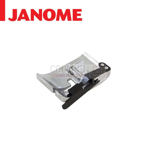"JANOME 1/4"" SEAM QUILTING FOOT - 859814001 9mm CATEGORY D"