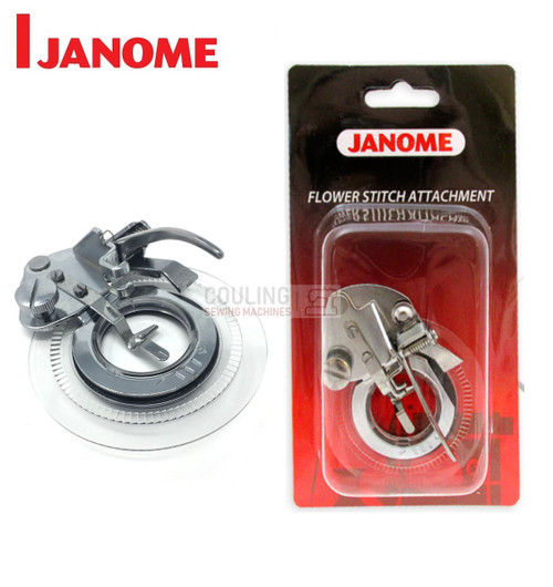 JANOME FLOWER STITCH ATTACHMENT - 202261003 -  CATEGORY A & B