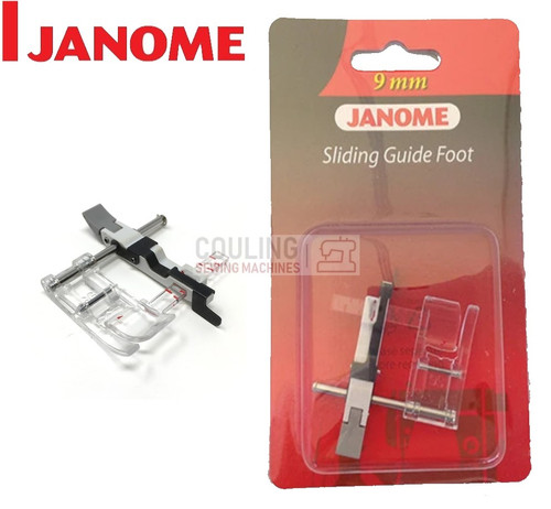 JANOME SLIDING GUIDE FOOT SG - 202293004 9mm CATEGORY D