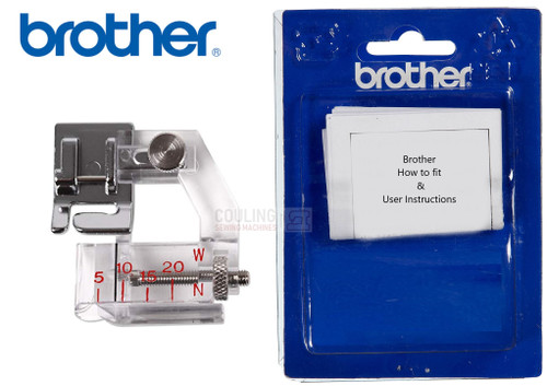 BROTHER Adjustable Binder Foot F071 - XF7243001