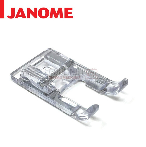 JANOME OPEN TOE SATIN STITCH CRAFT FOOT F2 - 859813000 9mm CATEGORY D