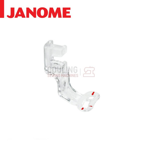JANOME EMBROIDERY P FOOT PLASTIC - 861802003 MC9900 ONLY