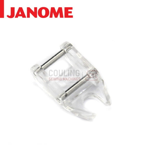 JANOME OPEN TOE FREE MOTION QUILTING FOOT QO - 859837000 9mm CATEGORY D