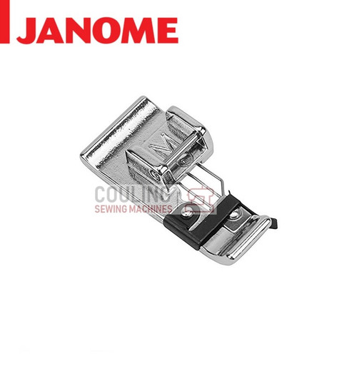 JANOME OVER EDGE OVERLOCK FOOT M - 859810007 9mm CATEGORY D