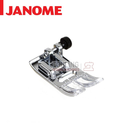 JANOME STANDARD METAL ZIG ZAG A FOOT - 859802006 9mm CATEGORY D