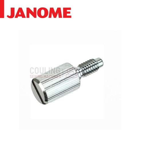 JANOME FOOT HOLDER SHANK SCREW LONG - 858274000 CATEGORY D