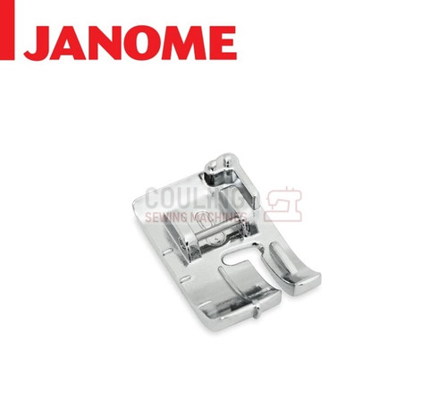 "JANOME 1/4"" NO GUIDE SEAM QUILTING FOOT - 202313104 9mm CATEGORY D"