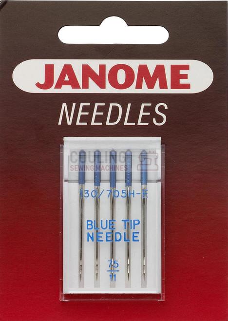 Janome Needles Blue Tip 5pk