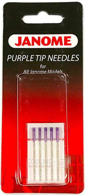 Janome Needles Purple Tip 90/14 5pk