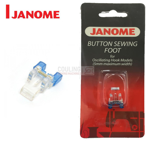 JANOME BUTTON SEW ON FOOT - 200131007 - CATEGORY A