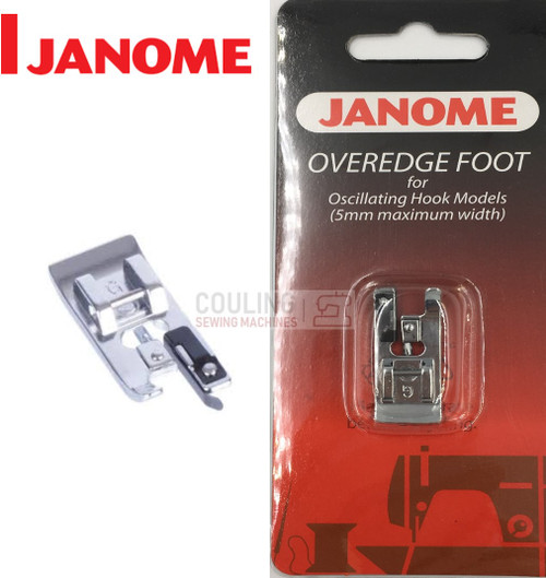 JANOME OVEREDGE OVERLOCK FOOT- 200132008 - CATEGORY A