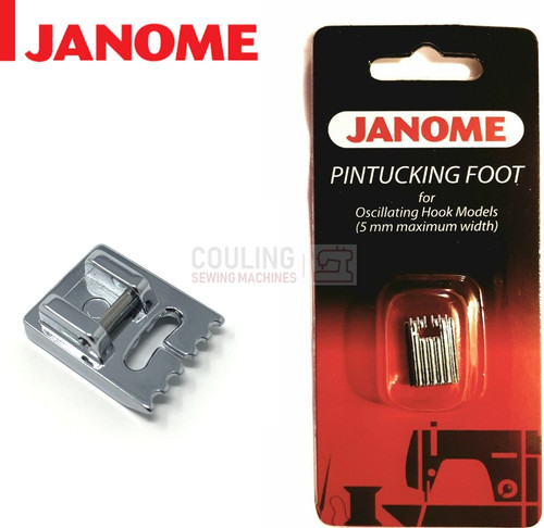 JANOME PIN TUCKING FOOT- 200328003 - CATEGORY A